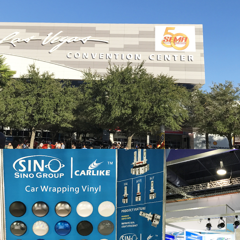 SINO GROUP Vinilo In 2016 SEMA Show