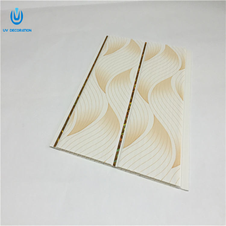 Latest design interior ceiling decoration pvc ceiling board