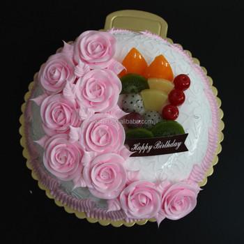 Enjoyable 2015 Realistic Fantastic Plastic Birthday Cake Model For Party Personalised Birthday Cards Fashionlily Jamesorg