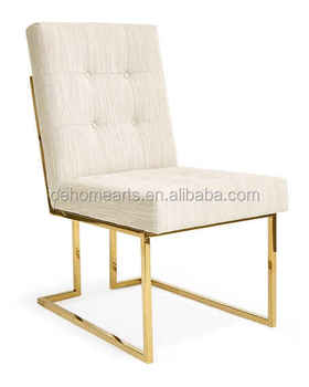 best website 4333d a90c4 Modern Classic Design White Woven Fabric Stainless Steel Dining Chair - Buy  Stainless Steel Dining Chairs,Woven Fabric Dining Chairs,Dining Chair ...