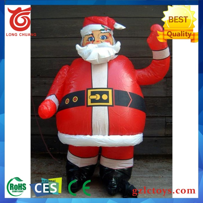 Giant Inflatable Santa/christmas inflatables santa claus