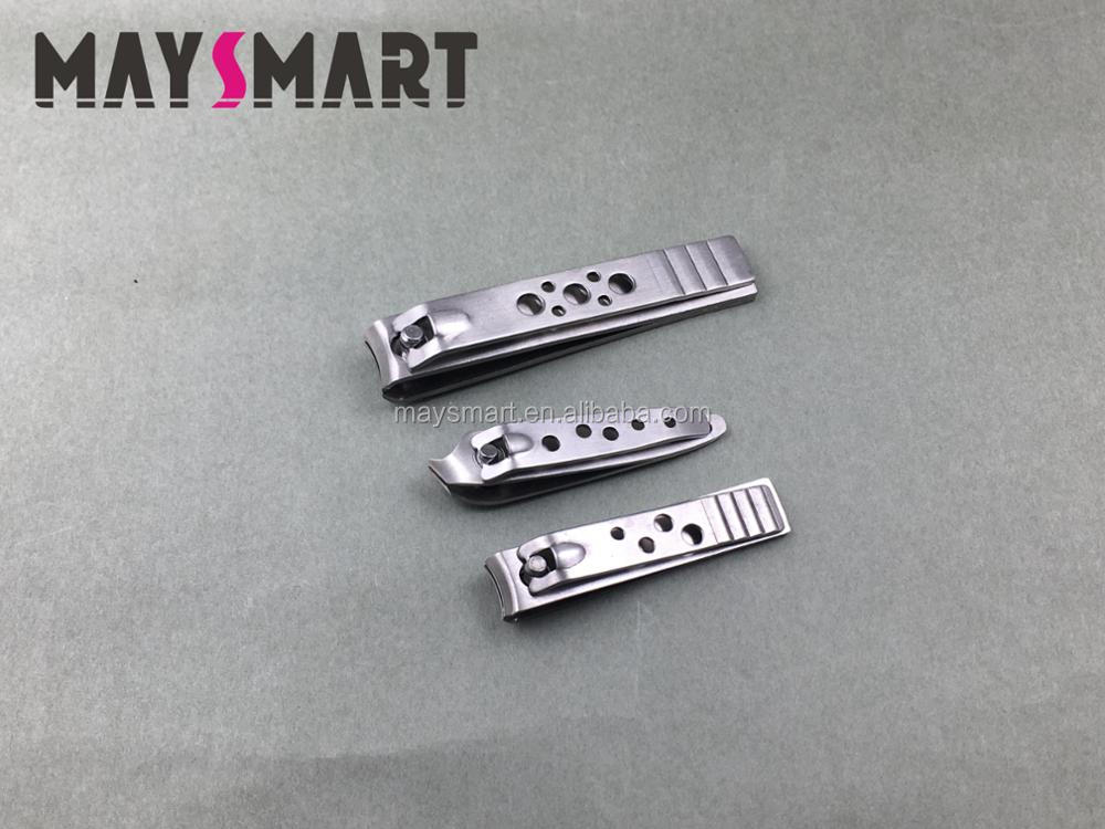 Three Size Round Hole Funny Entirety Stainless steel Nail Clippers