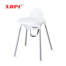 hot selling portable plastic kids child baby food eat feeding high dining chair for restaurant