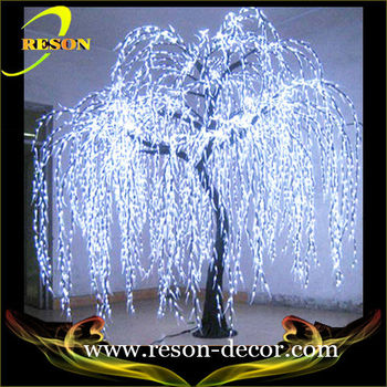 3m white led willow tree cheap christmas outdoor