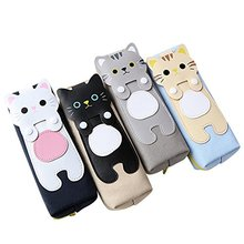 Custom Lovely 가와이이 Cats Nylon <span class=keywords><strong>연필</strong></span> Storage Box 학생 <span class=keywords><strong>연필</strong></span> Case