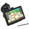 Car GPS Navigator 5 inch Rubber case with free world map 1200mah battery optional