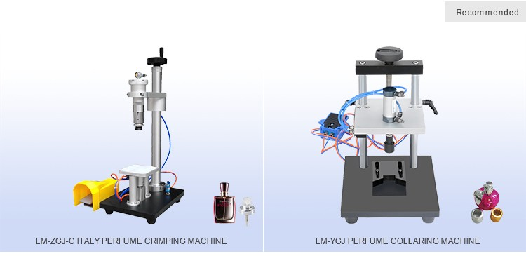 Semi-auto CE Certificate Pneumatic Perfume Crimping Machine For Sale