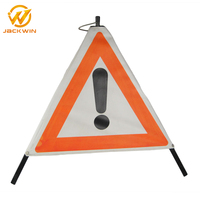 Safety signs folding traffic signs Car Triangle Warning Sign