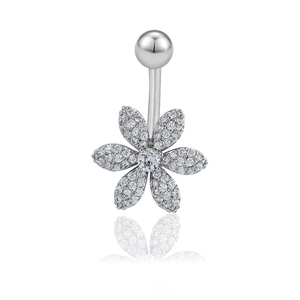 D-68 xuping Navel Piercing Belly Button Ring wholesale