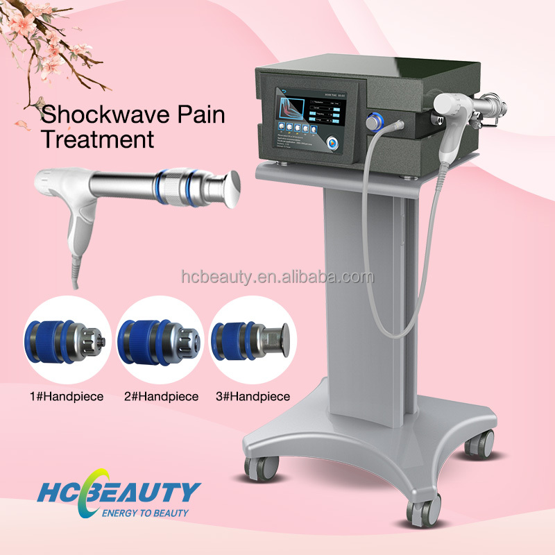 Air press system pain treatment radial shockwave therapy 5mhz