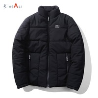 Wholesale padding custom quailted padded bomber down men jacket