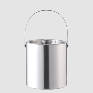 Factory Direct 2500ml metal wine cooler stainless steel champagne beer ice bucket