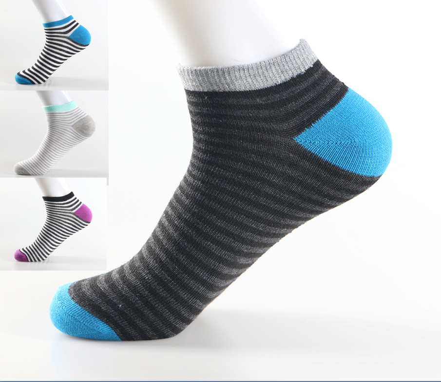 2017 China supplier wholesale running ankle socks happy feet socks