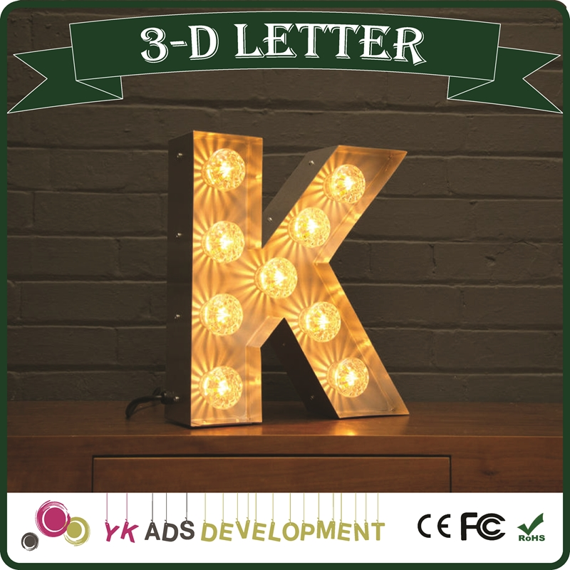 Light Up Letters Light Up Letters Suppliers and Manufacturers at