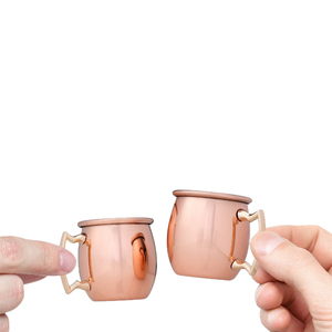 Premium Stainless Steel Mini Copper Plated Moscow Mule Mug