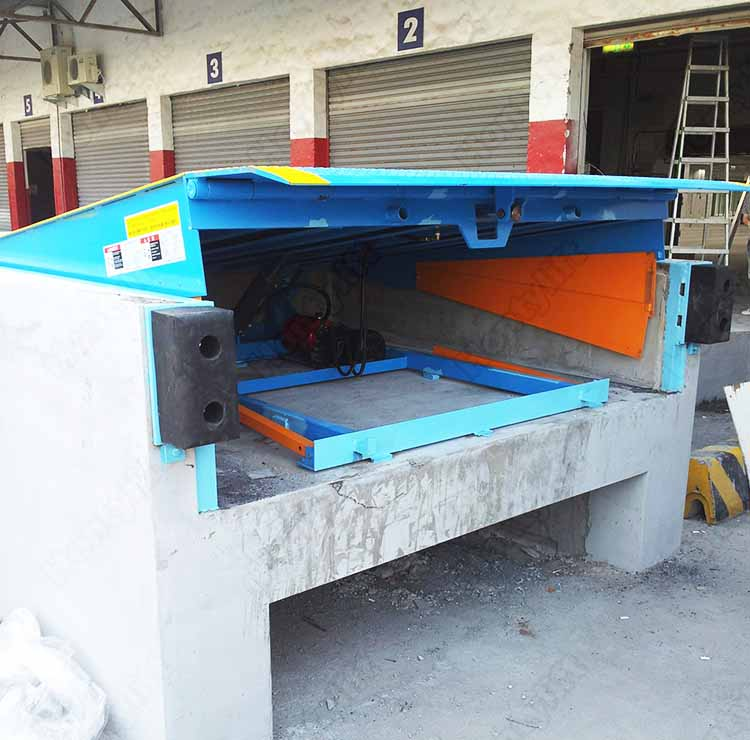 China Supplier Ce Cattle Loading Dock Ramp/used Loading Dock Ramp ...