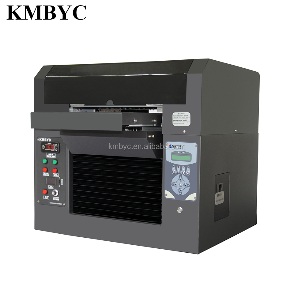 direcly uv led BYC168-2.3USB printer scratch resistant durable effect logo printing machine