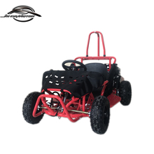 China wholesale 6 -12 years kids Red Mini Gas Go Kart with CE and EPA