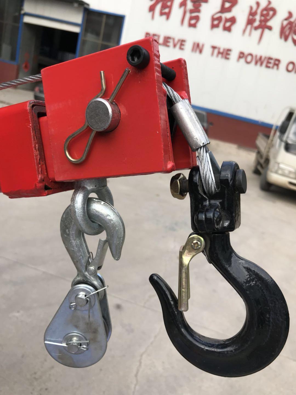 2205lb Handleiding Hydraulische Pickup Truck Kraanbalkkraan
