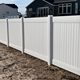 FenTech 6x8 ft White Color Plastic/vinyl/pvc fence