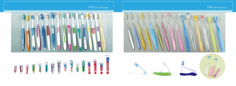 Supply hotel toothbrush, disposable toothbrush with toothpaste