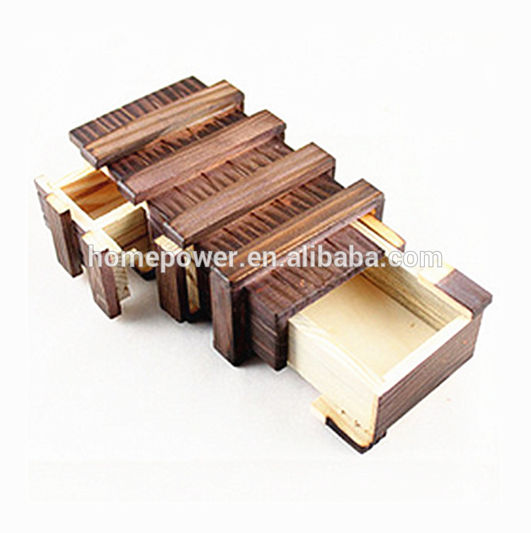 New products Wooden Secret Toy Magic Box