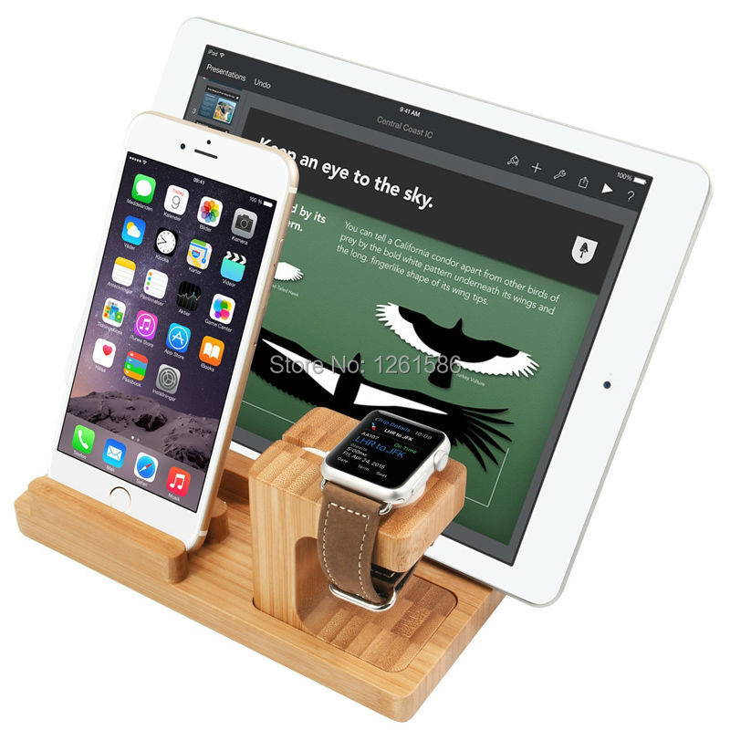 2015 fashion bamboo design for apple watch stand charging. Black Bedroom Furniture Sets. Home Design Ideas