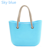 China supplier colorful ladies eva material O nline italy bag