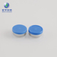 Experienced manufacturer flip off cap for vials injection vial blue