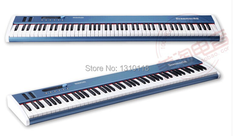 buy midiplus dreamer 88 key usb midi keyboard controller with semi weighted. Black Bedroom Furniture Sets. Home Design Ideas