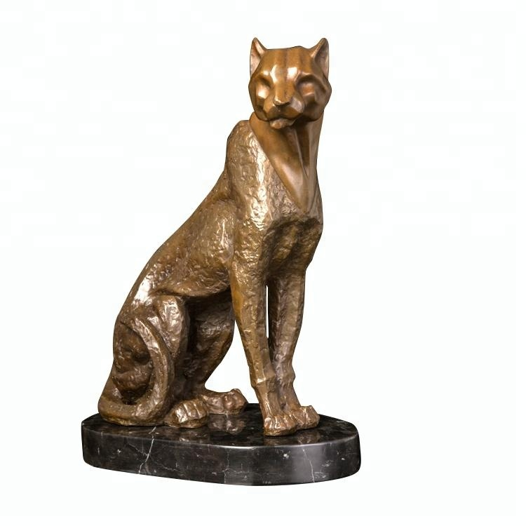 Modern style famous bronze sculpture of wild animal