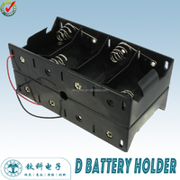 TBH-D-8F-W 8 D Cell Battery Holder waterproof Battery Holder li-ion Battery Holder (TECO)