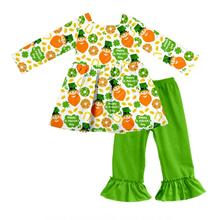 Großhandel boutique kinder st patrick <span class=keywords><strong>kleidung</strong></span> der winter casual ware baby mädchen kleid