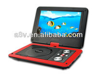 9.8 inch_portable DVD CD player with TV tuner