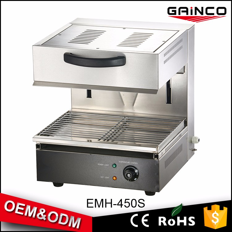 Counter Top Kitchen Equipment Salamander With Burners/Electric Auto Kitchen  Salamander Grill Machine
