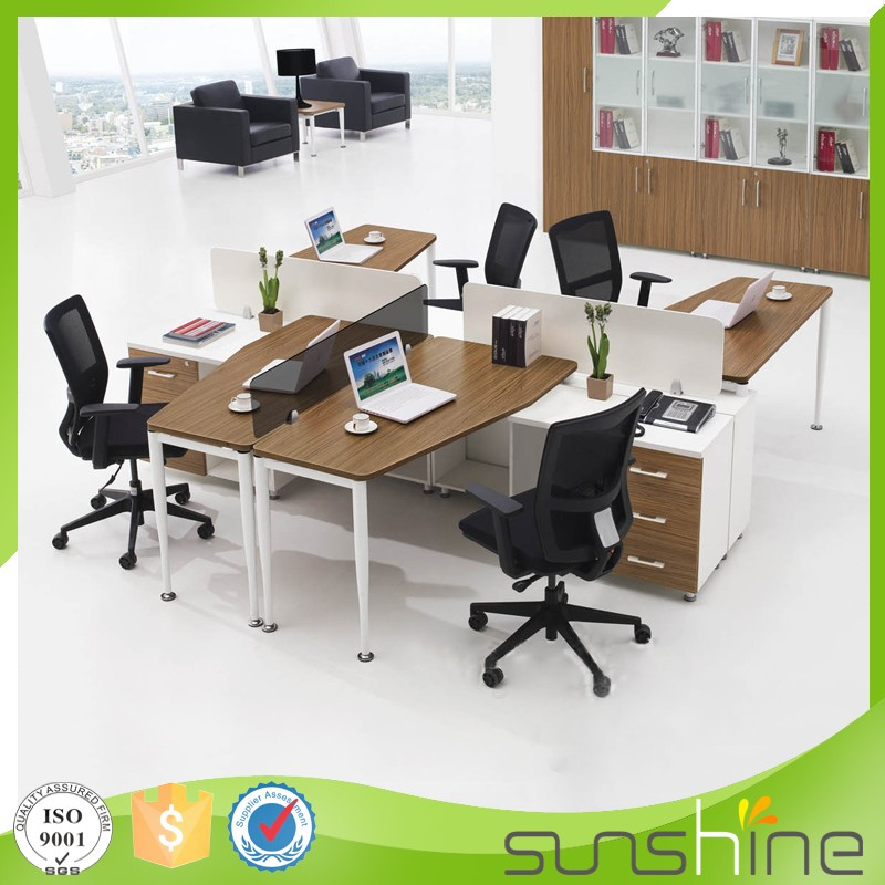 ht-fpw16 modern american style office furniture metal frame