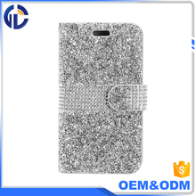 best selling diamond wallet mobile phone case for iphone 7 6