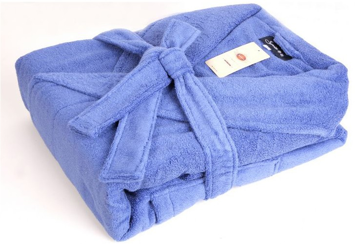 Customized high-end 100% cotton ladies robes for home