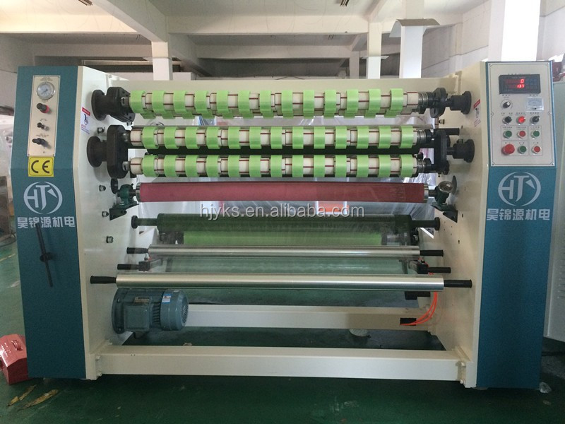 High Precision Adhesive Jumbo Roll Tape slitting machine/Masking Tape Slitter Rewinder