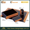 2014 new products office wooden desk pad and desk set
