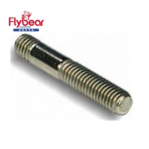 Standard fasteners High quality m16 double end threaded stud bolt duplex 2205/2507 M24x1000mm double head studs