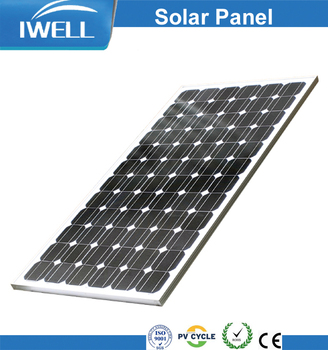 High quality 180W Monocrystalline solar panels for home