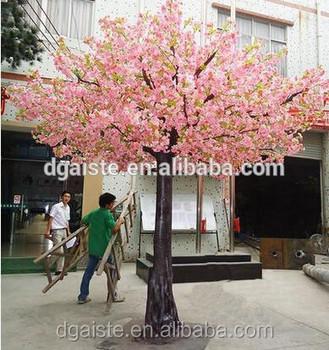 Plastic Wedding Cherry Blossom Backdrop Decoration Sakura Tree