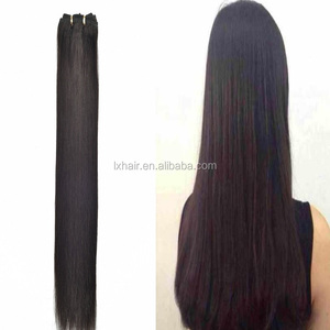 Good Price Virgin Brazilian Yaki Straight Hair Weaving Unprocessed Virgin Human Hair Weft