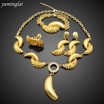 18 carat gold plated jewelry sets with dubai expensive