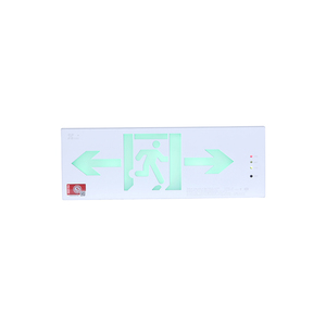 Tritium exit sign board for emergency evacuation lighting
