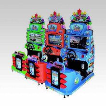 Amusement Dynamic Park Electric Mini Car Kids Racing Simulator Game Machine Go Kart