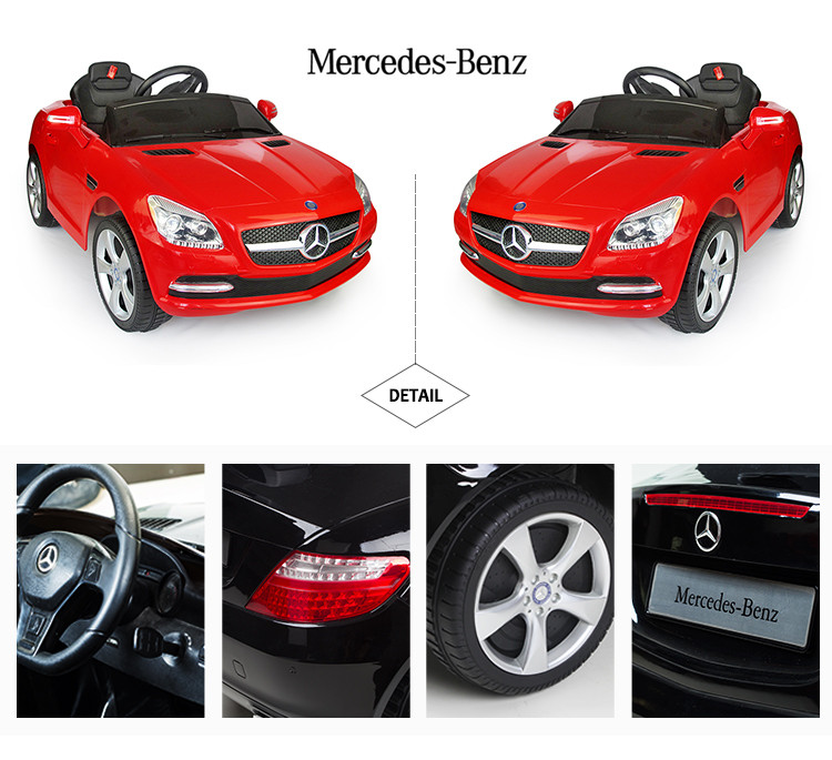 Rastar Mercedes Benz Baby Ride On Toy Car