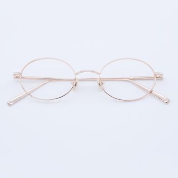 426dc27f14b German Gold Color Titanium Eyeglass frames manufactures fashion optical  frame 2018