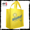 Reusable and foldable non woven laminated tote shopping bags